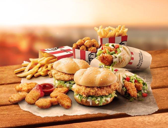 KFC Family Burger Box